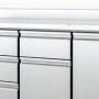 דלפק קירור משולב דלתות ומגירות